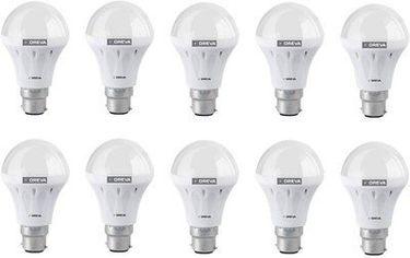 Oreva Eco 12W LED Lamp (White, Pack of 10) Price in India
