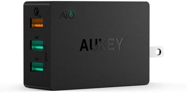 Aukey PA-T2 (42W) 3-Port USB Wall Charger Price in India