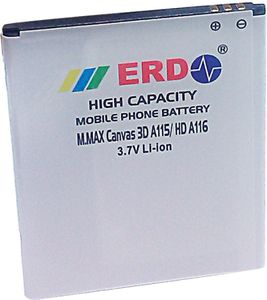ERD 1200mAh Battery (For Micromax Canvas 3D A115/Canvas HD A116) Price in India