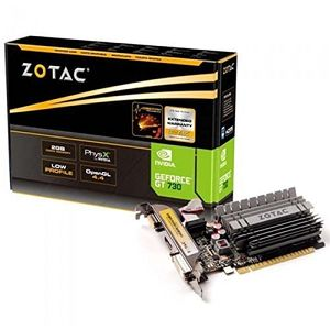 Zotac NVIDIA Geforce GT 730 2GB DDR3 Graphic Card Price in India
