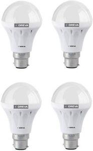 Oreva 10W White LED Bulb (Pack Of 4) Price in India