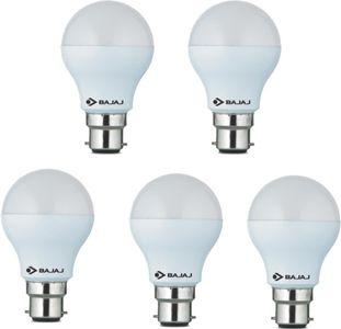 Bajaj 9W White LED Bulb(Pack Of 5) Price in India