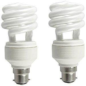 Osram Mini Spiral 8 Watt CFL Bulb (Warm White,Pack of 2) Price in India