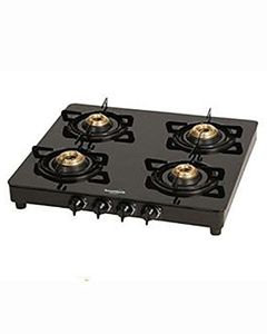 Sunflame Crystal Toughened Glass Gas Cooktop (4 Burner) Price in India