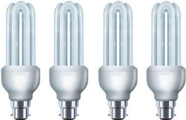 HPL 5W CFL Bulb (White,Pack of 4) Price in India