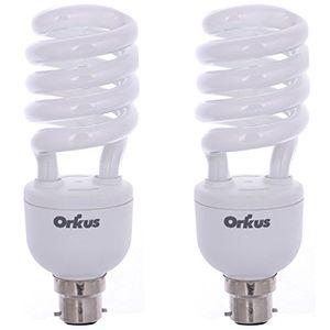 Orkus 27 Watt CFL Bulb (White,Pack of 2) Price in India