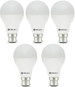 Bajaj 12 W 830066 LED Bulb B22 White (pack of 5) Price in India