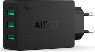 Aukey PA-U35 6A 3-Port USB Wall Charger Price in India