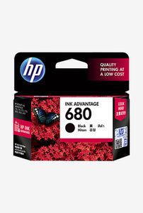 HP 680 Black Ink Cartridge Price in India