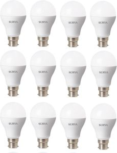 Surya 3W White 270 Lumens LED Bulbs (Pack Of 12) Price in India