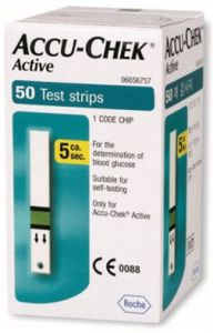 Accu-Chek Active 50 Test Strips Price in India