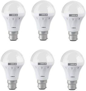 Oreva 12W ECO LED Bulb (Cool Day Light , pack of 6) Price in India