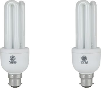 Wipro Smartlite Classic 20 W CFL Bulb (Pack of 2) Price in India