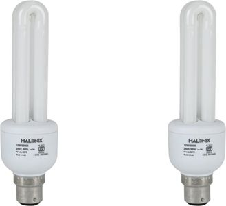 Halonix 15 W CFL 2U Bulb (Pack of 2) Price in India