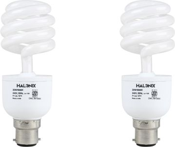 Halonix 20 W Twister CFL Bulb (Pack of 2) Price in India