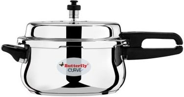 Butterfly C1990A00000 Stainless Steel 3 L Pressure Cooker Price in India
