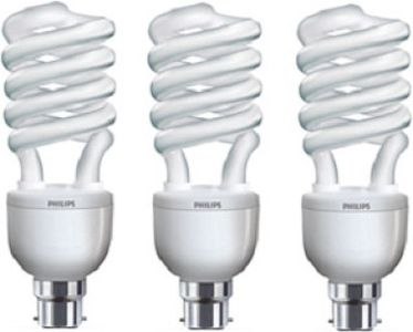 Philips Tornado B22 32 W CFL Bulb (Pack of 3) Price in India