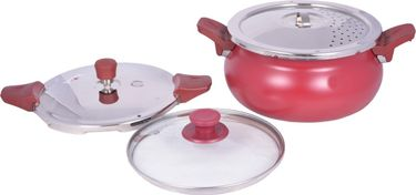 Pigeon All In One Super Aluminium 5 L Pressure Cooker Price in India