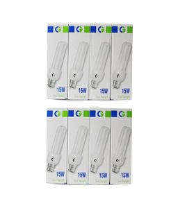Crompton Greaves 15 W 2U CFL Bulb (Cool Daylight, Pack of 8) Price in India