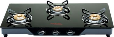 Hindware Armo GL 3 Burner Auto Ignition Gas Cooktop Price in India