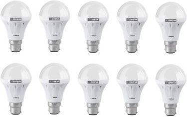 Oreva 8W LED Bulb (Pack of 10) Price in India