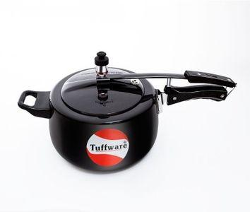 Tuffware H03HA Hard Anodized 3 L Pressure Cooker (Inner Lid) Price in India