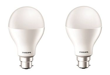 Philips 17W B22 2000L LED Bulb (Cool Day Light, Pack of 2) Price in India