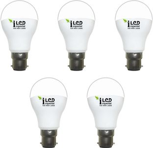 Imperial 5W-CW-BC22-3614 LED Premium Bulb (White, Pack of 5) Price in India