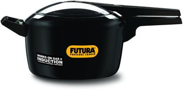 Futura IF50 Hard Anodised 5 L Pressure Cooker (Induction Bottom,Inner Lid) Price in India