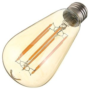 Glitz 6W E27 Filament Vintage LED bulb (Warm White) Price in India