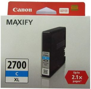 Canon PGI 2700 XL Cyan Ink Cartridge Price in India