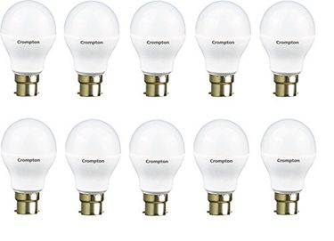Crompton 7W LED Bulb (White, Pack of 10) Price in India