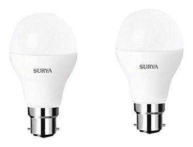 Surya Neo B22 7W LED Bulbs (White, Pack of 2) Price in India