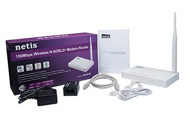 Netis DL4310 150Mbps Wireless N ADSL2 MODEM Router Price in India