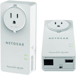 Netgear XAUB2511-100NAS 200Mbps 2-Port Power Lan Adapter Price in India