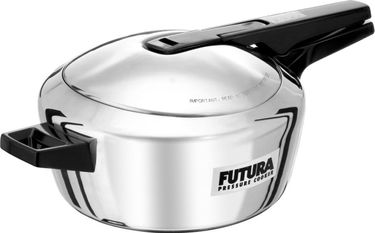 Futura F41 Stainless Steel 4 L Pressure Cooker Price in India