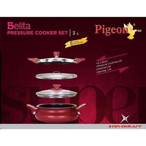 Pigeon CP204913054 Belita Super 3 In 1 Cooker (3 L) Price in India