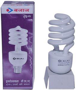 Bajaj 27W Spiral CFL Bulb (White) Price in India
