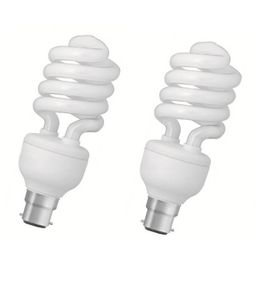 Crompton Greaves 25W CFL Bulbs (White, Pack of 2) Price in India
