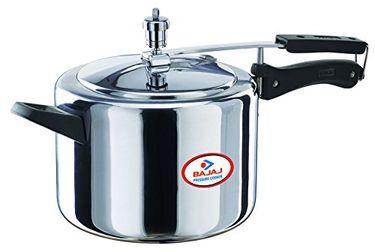Bajaj Majesty PCX 35 Aluminium 5 L Pressure Cooker (Inner Lid) Price in India