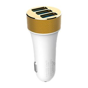 Phonokart PKC18AC Triple USB Car Charger (with Lightning Cable) Price in India