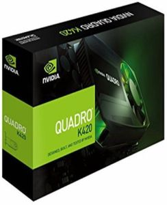 Leadtek Nvidia Quadro K420 2GB DDR3 Graphics Card Price in India
