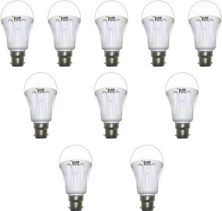 Imperial 10W-WW-BC22-3575 Pin LED Bulb (Yellow, Pack Of 10) Price in India