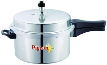Pigeon 12093 Aluminum 5 L Pressure Cooker (Outer Lid) Price in India