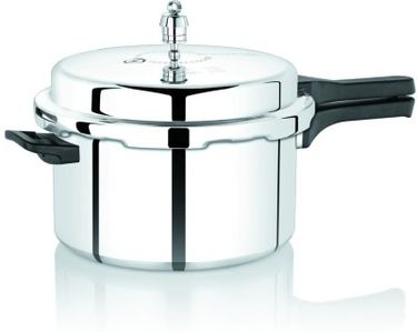 Premier Netraa Aluminium 5.5 L Pressure Cooker (Outer Lid) Price in India