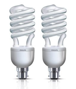 Philips Tornado 27W B22 CFL Bulb (White, Pack of 4) Price in India