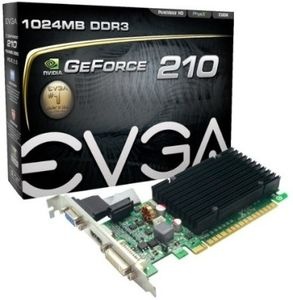 EVGA GeForce 210 (01G-P3-1313-KR) 1GB DDR3 Graphics Card Price in India