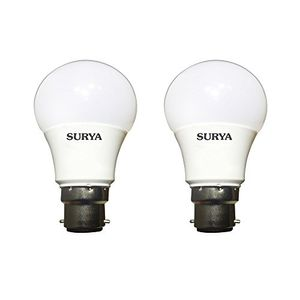 Surya 5W B22 LED Lamp (Cool Day Light, Pack of 2) Price in India