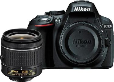 Nikon D5300 DSLR (with 18-55 VR Kit Lens) Price in India