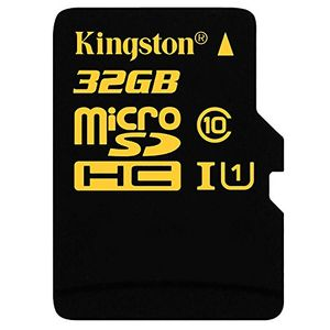 Kingston 32GB MicroSDHC Class 10 (90MB/s) UHS-1 Memory Card (With Adapter) Price in India